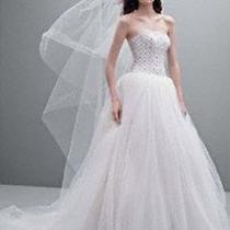 Petities Wedding Dress by White by Vera Wang Photo