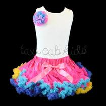 Pettiskirt Tutu 2 Pc Boutique Fancy Flower Party Pageant Parade Nwt Sz 3t Photo