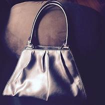 Pewter/chrome Colored the Limited Handle Purse Handbag Photo