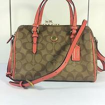 Peyton Signature Bennett Mini Satchel (Coach F49862) Photo