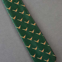Pheasant Bird Repeat - Eddie Bauer Tie Necktie Photo