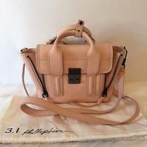 Phillip Lim 3.1 Mini Pashli Bag Satchel Crossbody Purse Handbag Blush Pink 695  Photo