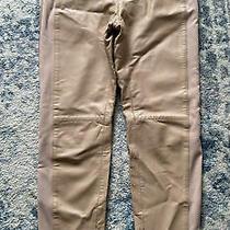 Philosophy Alberta Ferretti Real Leather Trousers Pants Blush Nude Uk 10 Photo