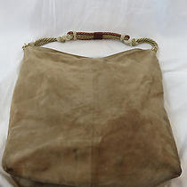 Philosophy Di Alberta Ferretti Suede Tote With Leather/rope Handles  Photo