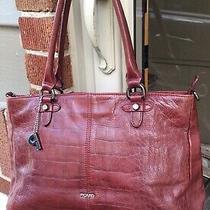 Picard Embossed Croc Leather - Handbag Tuck Shoulder Bag Quality Tote   Photo
