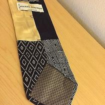 Pierre Balmain 100 % Silk Necktie Art Deco Geometric Bold  Photo