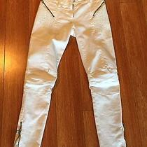 Pierre Balmain Biker Pants Originally Priced at 600 Photo