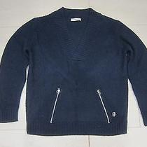 Pierre Balmain Blue Sweater Photo