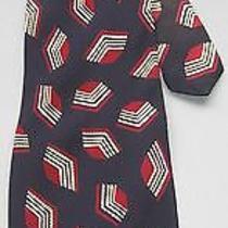 Pierre Balmain Couture Silk Tie Handmade in Italy Suprematism Art Decor Photo
