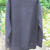 Pierre Balmain Italy Oversized Zipped-Sleeves Jumper Uk 38 (It 52) New W/o Tags Photo