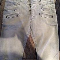 Pierre Balmain Light Gray Jeans  Size 33 Waist Never Worn Photo