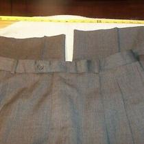 Pierre Balmain No Fabric Tag Pleated No Cuffs 33 X 30 477 Photo