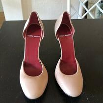 Pierre Hardy Blush Pink Leather Heels Photo