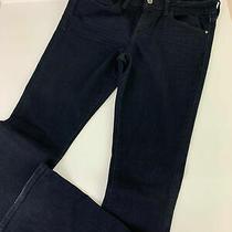 Pilcro Anthropologie Black Stet Fit Blue Jeans Women's 29 Photo