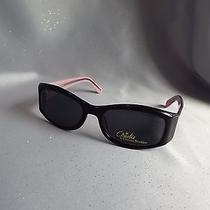 Pink and Black Christie Brinkley Sunglasses Photo