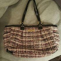Pink and Black Coach Purse Photo