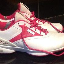 Pink and White Custom Designed Reebok Easy Tone Shoes Sneakers Photo
