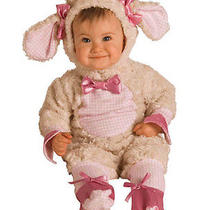Pink Baby Lamb Costume - 6-12 Months Photo