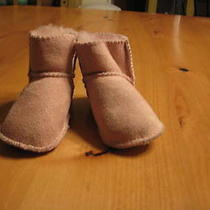 Pink Baby Ugg Booties Photo