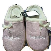 Pink Bebe Slippers for Girls Photo