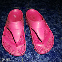 Pink Birki Birkenstock Alpro Cell Waterproof Thong Womens Ladies Sandal Shoes 36 Photo