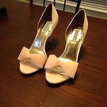 Pink Blush Badgley Mischka Women's Zandra Wedding Shoes Womens Size 9.5 Photo