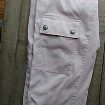 Pink Blush Banana Republic Stretch  Pants 2 Cotton Blend Cropped Photo