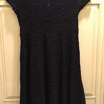 Pink Blush Black Lace Short Sleeve Dress Sz Small Photo