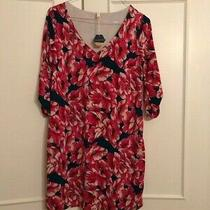 Pink Blush Floral Maternity Dress Size Small Photo