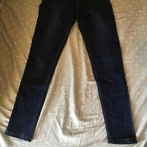 Pink Blush Maternity Dark Blue Navy Skinny Jeans Size Small Womens Photo
