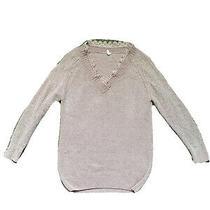 Pink Blush Maternity Sweater Small Dusty Rose Photo