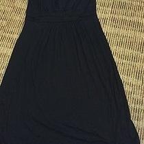 Pink Blush Solid Black Dress Large Photo