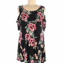 Pink Blush Women Black Casual Dress M Photo