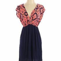 Pink Blush Women Blue Casual Dress S Photo