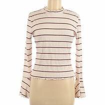 Pink Blush Women Brown Long Sleeve Top M Photo
