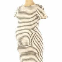 Pink Blush Women Ivory Casual Dress Xl Maternity Photo