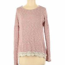 Pink Blush Women Pink Pullover Sweater S Photo