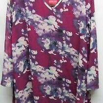 Pink Blush Women Size Xl Purple Floral Dress Long Sleeve Nwt Lot2 Photo