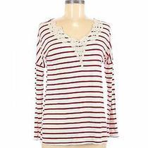 Pink Blush Women White Long Sleeve Top S Photo