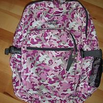 Pink Camo Trans by Jansport Backpack Photo