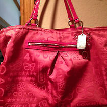 Pink Coach Gabby Tote Photo