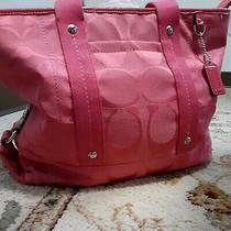 Pink Coach Purse Photo