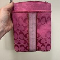 Pink Coach Swingpack Photo