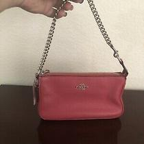 Pink Coach Wristlet Nwt F53340 Photo