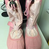 Pink Columbia Snow Boots Sz 6 Youth  Photo