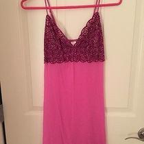 Pink Dkny Elegant Chemise Slip Nightie M Photo