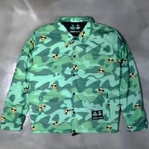 Pink Dolphin Shmoplife Collab Coach Jacket Medvery Rare 1 of 100. Hbk Limited Photo