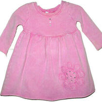 Pink Fish Playwear Baby Girls Boutique Rhinestone Knit Dress 9 Months So Comfy Photo