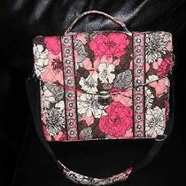 Pink Floral Vera Bradley Computer Case Bag Purse Photo