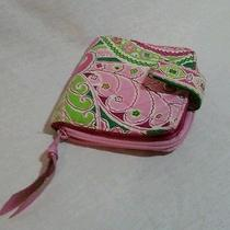 Pink Floral Vera Bradley Wallet Cute Fun and in Great Condition Photo